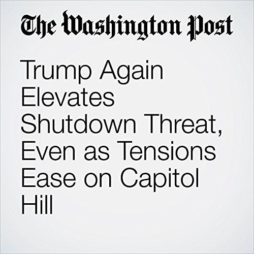 Trump Again Elevates Shutdown Threat, Even as Tensions Ease on Capitol Hill copertina