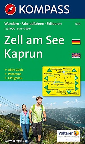Download 030: Zell Am See - Kaprun Europa Sportregion 1:30, 000 