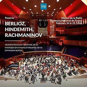 INA Presents: Berlioz, Hindemith, Rachmaninov by Orchestre National de France at the Maison de la Radio (Recorded 24th & 25th Febuary 1966)