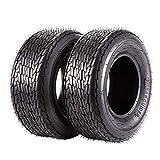 20.5x8-10 Trailer Tires 205/65-10 20.5x8.00-10 20.5x8x10 Load Range E, Set of 2, 10PR