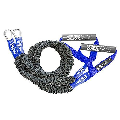 Crossover Symmetry Súper Pesadas en los Hombros de Fuerza/Bandas de Ejercicio Crossfit, calentamientos, Mantener Arma - un Juego de 2 Cables Cruzados (25 lbs)