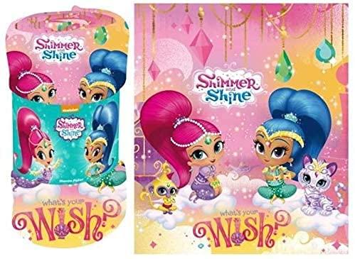 Shimmer & Shine Manta . Sintético Manta Polar .120x140 cm Peluche Peludo Suave sábana de Noche Cubierta de la Cama, los niños Duermen Bien