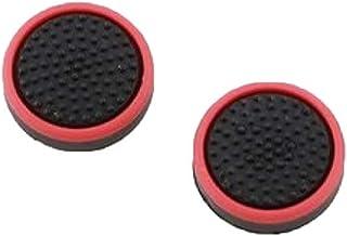 Par Grip Silicone Protetor Xbox Ps4 Ps3 - Preto c/ Vermelho