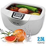 HFJ&YIE&H Jewelry Cleaner Industrial 160 Watts 2.5L Heated Ultrasonic Cleaners with Digital Timer