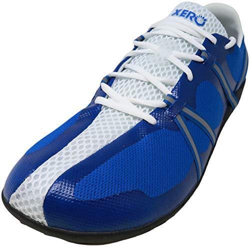 Xero Shoes Speed Force - Men's Barefoot, Minimalist, Lightweight Running Shoe - Roads, Trails, Workouts Blue