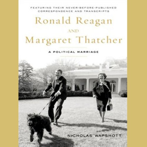Ronald Reagan and Margaret Thatcher audiobook cover art