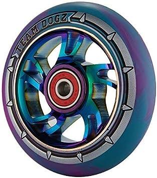 1 x Team Dogz 100mm Arco iris Espiral Aleación Patinete De ...