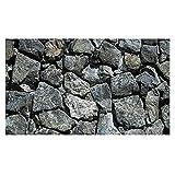 xzmnxzzme Fondo de Acuario de Piedra de Alta definición 39'x20 / 24'x16 Fondo de pecera rocoso Fondo de Pantalla Impermeable de PVC Duradero Fondo de Pantalla de pecera Fondo de Piedra