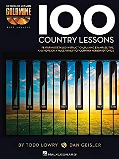 100 Country Lessons: Keyboard Lesson Goldmine Series Book/2-CD Pack