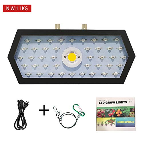 COB LED Grow Light 1200W, Adjustable Veg&Bloom Switch Full Spectrum Growing...