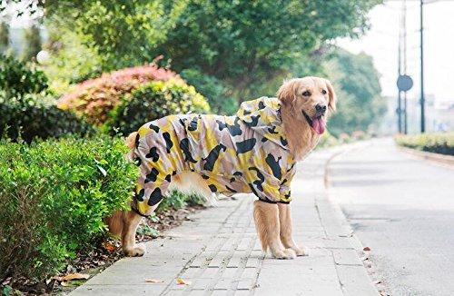 Big Dog vêtements printemps et automne Golden Retriever Samoyède Alaska Grand Chien Pet vêtements