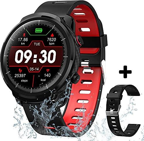 Reloj inteligente Aobzmy para teléfonos Android iOS, resistente al agua, reloj inteligente, compatible con iPhone y teléfono Android para hombres y mu...