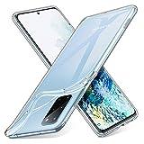 ESR Funda Slim para Samsung S20 Plus/S20+/S20+ 5G Essencial Zero,[Funda Blanda de Silicona Flexible] Funda de TPU Blando Compatible con Samsung Galaxy S20 Plus, Transparente