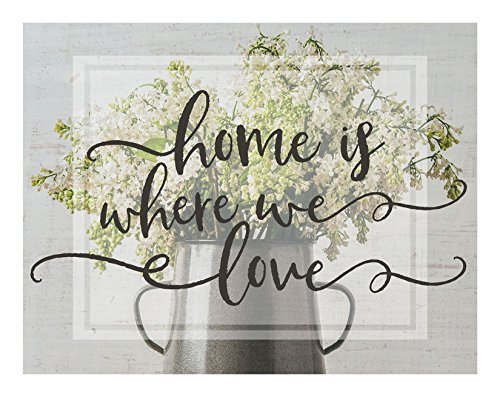 Kindred Herzen lightbox-Insert, Home is Where WE Love, Multicolor, 93/4x 71/2