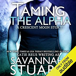 Taming the Alpha audiobook cover art