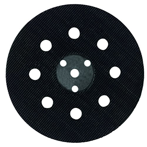 Wolfcraft 2227000 125mm Easy Fix Backing Pad for Bosch PEX 12/ 125/ 400 argent