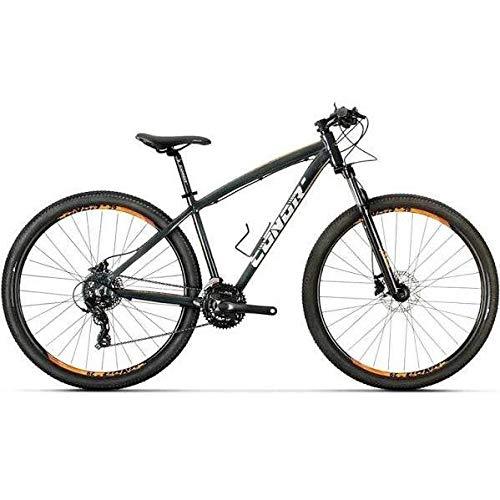 "Conor 6700 29"" Bicicleta, Adultos Unisex, Negro/Naranja (Multicolor), L"