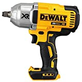DEWALT (DCF899HB) 20V MAX XR Impact Wrench Kit, Brushless, High Torque, Hog Ring Anvil, 1/2-Inch,...