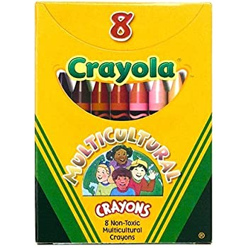2Packs OF Crayola Standard Crayon Set Assorted Colors Box of 8