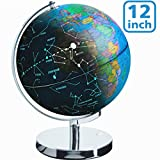 "Best World Globes - Illuminated Spinning World Globe for Kids, KingSo 12"" Review"
