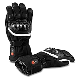SAVIOR Heated Gloves with Rechargeable Lithium Ion Battery Heated for Men and Women, Works Up to 2,5-6 Hours (XL)