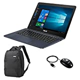 Asus L402NA-GA191TS PC Portable 14' Bleu (Intel Celeron, 4 Go de RAM, 32 Go, Windows 10) + Office 365 Personnel Inclus Pendant 1 an + Sac et Souris Inclus [Ancien Modèle]