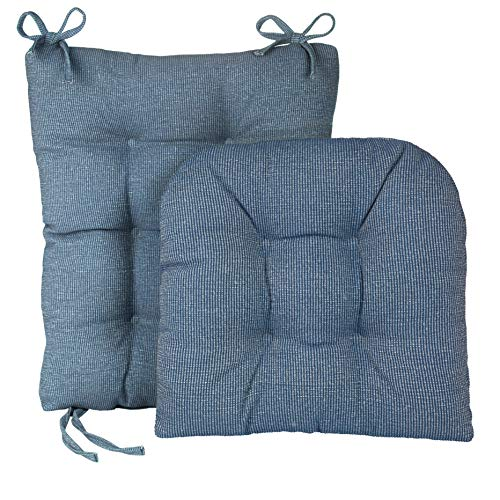 Klear Vu Gripper Jumbo Saturn Rocking Chair Cushion Set, Blue