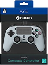 Nacon Compact Controller Wired - Classic - Playstation 4 (Grey)