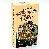 GYNFJK Cartas románticas del Tarot de Esoteric Fortune sobre el Amor, la Vida, Las relaciones y Las familias Juego de Cartas de pronóstico del Destino