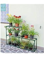 Verdemax 2529 Estantería para invernaderos de huerto y jardín, Verde