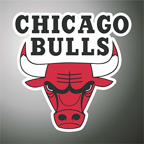 Graphic-lab Pegatina – Pegatina de Chicago Bulls Basket NBA