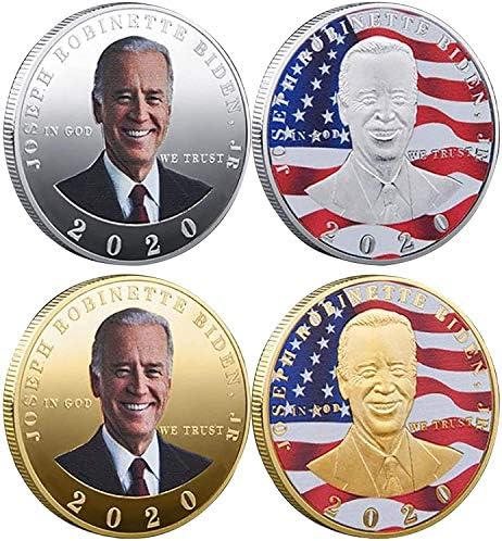 Memorabilia Coin Collection President Donald Trump Gold Silver American Eagle Commemorative product image