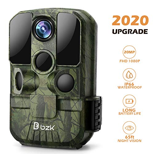 BZK Trail Game Camera - 20MP 1080P HD Waterproof Hunting Cam...