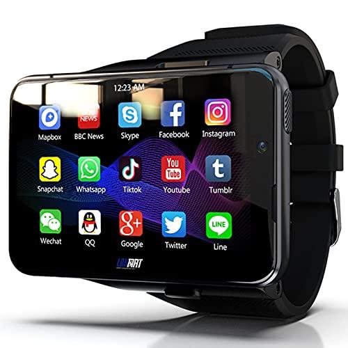 VBF Smart Watch, 2,88 Pulgadas 4GB + 64GB LCD 2300mAh, Adecuado para Android 7.1 4G Teléfono móvil A Prueba de Agua Reloj Inteligente,C