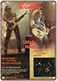 NOT Kramer Guitar Uriah Heep Blechschild Plaque Vintage