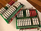 LOT OF 2 OPTO22 G4PB24,G4 ODC5,G4 IDC5D RELAY WINSYSTEMS SAT-DX CPU CARD,BOXZM