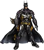 This armored BATMAN comes fully equipped with a variety of accessories, including a gun-shaped multi-device and detachable stun stick The Batsuit and cape are distressed with faded colors, showcasing a realistic rendition of the dark hero Figure also...