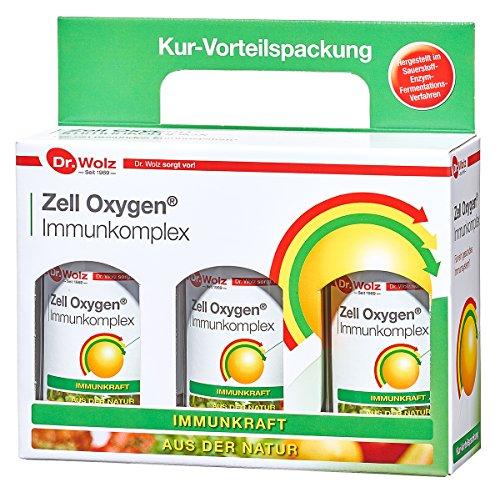 Kurpackung Zell Oxygen Immunkomplex | Immunkraft aus der Natur | In Studien geprüft | 750ml