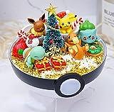 Action Figurines de Pokemon Ball Handraft DIY Pikachu Bulbasaur MEWTWO Modèle Jouets Brinquedos ami de Noël Meilleur Cadeau