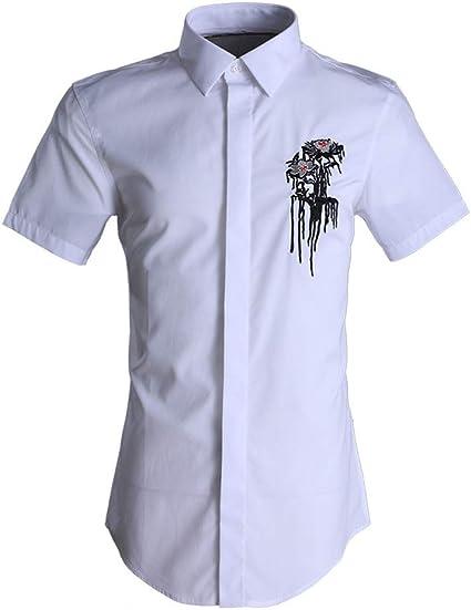 Camisa de verano de manga corta para hombre Camisas de ...