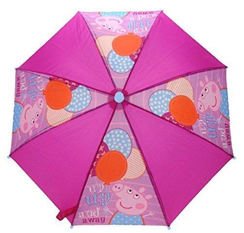 Charakter Peppa Pig Ballon 'bis bis und Away' Nylon Regenschirm