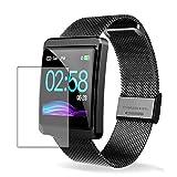 Vaxson 3 Stück Schutzfolie, kompatibel mit CanMixs 1.3' Smartwatch, Displayschutzfolie TPU Folie Bildschirmschutz [nicht Panzerglas Hülle Case ]