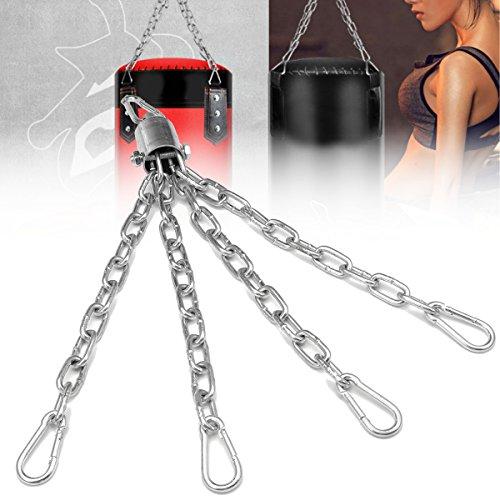 dDanke Boxsack Kette 4Stränge Aufhängen Stahl Kette für Stanz MMA Training