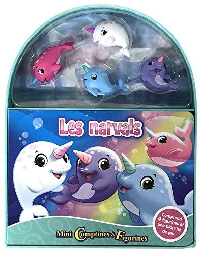 Phidal- Mini contínas y Figuras, Unicornios de los Mares, Multicolor