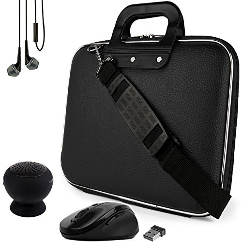 SumacLife's Black Cady Carrying Case Suitable for Teclast Tbook 11 / X3 Pro / X16 Plus / X2 Pro 11.6' 11'-12inch + USB HUB and 4GB Thumb Drive