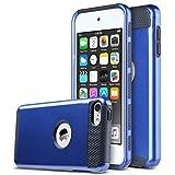 ULAK iPod Touch 7 6 5 Coque, iPod 6 Housse Étui Hybride Couche 2 Lourde en TPU + PC...