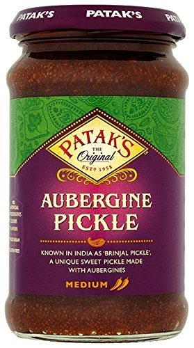 Patak's Brinjal Pickle 312g (Pack van 4)