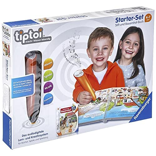 tiptoi® Starter-Set: Stift und Bauernhof-Buch: tiptoi® Stift mit Aufnahmefunktion und Buch