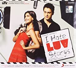 I Hate Luv Stories (New Karan Johar Hindi Film / Bollywood Movie / Indian Cinema Music CD by Vishal Dadlani, Shekhar Ravjiwani, Shafqat Amanat Ali, Sunidhi Chauhan, Shreya G (2010-05-26)