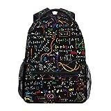 Alarge Mathematik-Rucksack, Reisen, Schule, Uni, Büchertasche, Schultertasche, Camping, Wandern, Laptop, Tagesrucksack